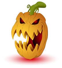 scary pumpkin clip art u2013 fun for halloween