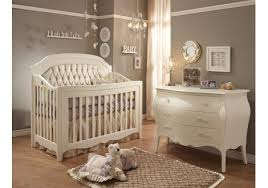 allegra convertible crib w platinum tufted panel by natart furniture