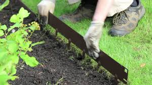 plastic garden edging ideas brick everedge how to install everedge lawn u0026 landscape edging youtube