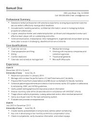 Resume For Bakery Worker Ward Clerk Cover Letter