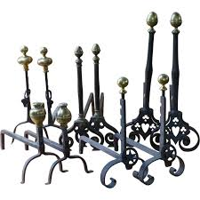 antique french andirons or firedogs for sale at 1stdibs