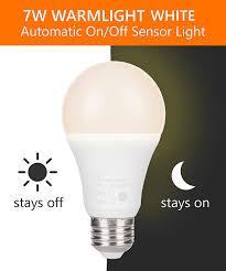 incandescent strip light bulbs lumenbasic led dusk to dawn bulb 60 watt incandescent equivalent