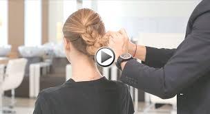 comment cuisiner des chignons tuto coiffure de fêtes comment réaliser une cascade de tresses en