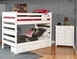 Laguna TwinTwin Bunk Set White - Trendwood bunk beds