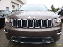 brown jeep grand cherokee 2017 2017 walnut brown metallic jeep grand cherokee limited 4x4