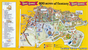 Worlds Of Fun Map by The One With Alton Towers Maps Snugradio Podcast
