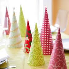 50 easy christmas centerpiece ideas paper trees christmas
