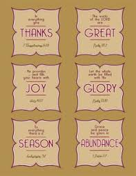 printables verses about thankfulness with activity ideas
