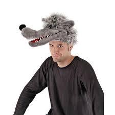 big bad wolf costume big bad wolf costume headpiece walmart