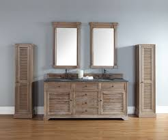 72 Inch Double Sink Bathroom Vanity by 72 Inch Double Sink Bathroom Vanity In Driftwood Finish