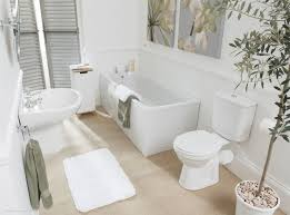 white bathroom decor home design ideas befabulousdaily us