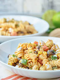 mexican pasta salad the perfect summer side dish