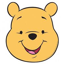 winnie pooh face shaped place mats 4 baby celebrations