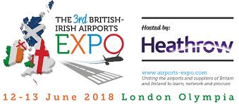 exhibition at the british irish airports expo 12 13 june 2018
