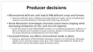in honor of per pinstrup andersen the micronutrient deficiencies
