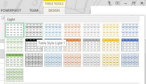 Change Table Style How To Create Custom Table Style For Excel List Object Using Vsto