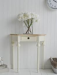 half moon console table with drawer console table design small console table with drawers for entryway