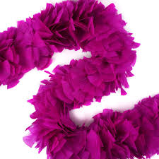 turkey feather boa boas solid colors berry 6 8