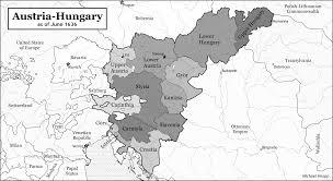 World Map Austria by Maps Austria Hungary