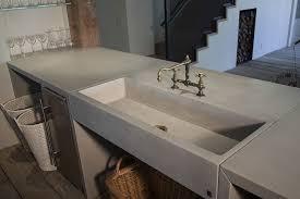 Kitchen With Farm Sink - sonoma cast stone concrete sinks concrete kitchen sinks