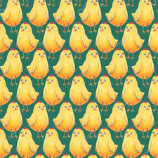 easter wrapping paper seamless background easter pattern with yellow