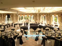 black and white wedding theme with some heavy metal fun damask