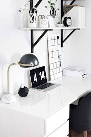 amy kim u0027s black white workspace front main
