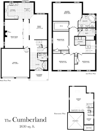 bradford floor plan cumberland 2630 sq ft centerville westin homes