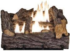 Propane Fireplace Logs by Propane Gas Logs Ebay