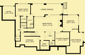 country floor plans country house plans for a 2 story 4 bedroom home