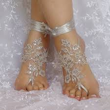 barefoot sandals for wedding bridal barefoot sandals crochet barefoot from semporia on etsy