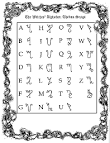 Temple of Wicca - Mind, Body & Spirit - Theban Script, The Witches ...