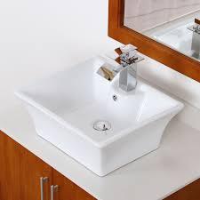 elite modern bathroom sink waterfall faucet chrome finish 8803c