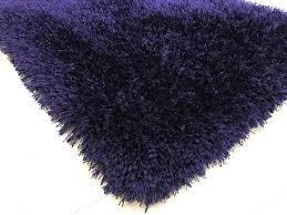 Purple Shag Area Rugs Rug Factory Plus Shaggy Viscose Solid Collection Purple Shag