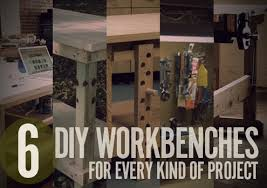5 Workbench Ideas For A Small Workshop Workbench Plans Portable by 6 Diy Workbench Projects You Can Build In A Weekend Man Made Diy