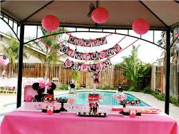 1st birthday party supplies supplies for minnie mouse 1st birthday party ideas anobama design