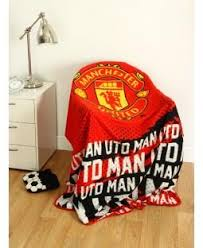 Manchester United Bed Linen - manchester united fleecy blanket manchester united bedding