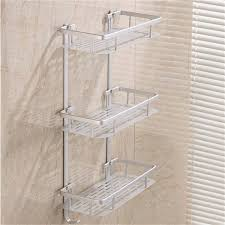 Bathroom Shelving Storage Bathroom Shelves Space Alumimum 1 2 3 Tier Home Kitchen Bathroom