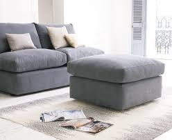 Chatnap Sofa Footstool Upholstered Storage Footstool Loaf Loaf - Sofa and footstool
