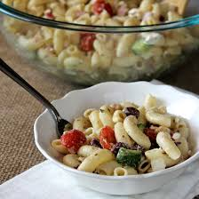 What Is Pasta Salad Greek Pasta Salad With Homemade Lemon Dressing The Sunday Glutton
