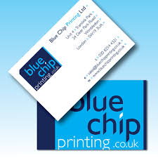 Ivory Business Cards Blue Chip Printing Business Cards On Smooth White Invitation Board