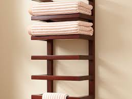 bathroom towel racks for bathroom 26 stylish wall towel rack