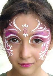 gorgeous fairy face painting i did this for beanie to go to a fairy party it looked awesome