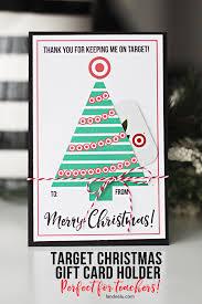 printable christmas targets teacher gift for christmas target gift card holder teacher