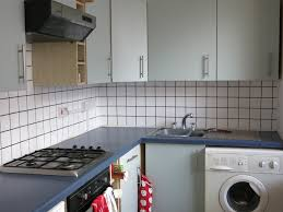 Kitchen Tile Paint Ideas Diy Kitchen Makeover For Under 100 U2013 A Life Less Physical