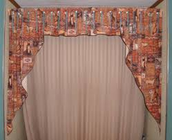 Designer Shower Curtains by Curtain With Valance And Small Wall Tiles Nytexas Bathroom