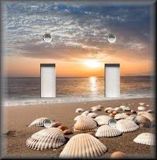 beach home decor switch plates collection on ebay
