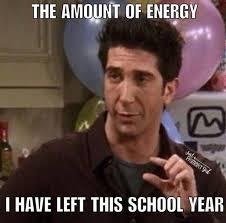 Meme Teacher - teacher meme energy left for the school year faculty loungers