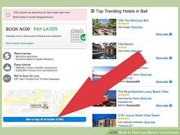 How to find last minute travel deals 13 steps with pictures