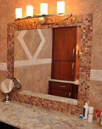 Diy Mirror Frame Bathroom How To Diy Framing Bathroom Mirror Inspiration Home Designs